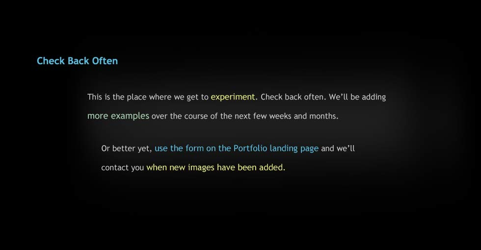 We'll Notify You When New Images Have Been Added
