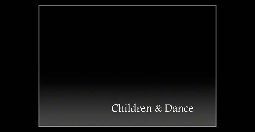 Children and Dance Title Slide
