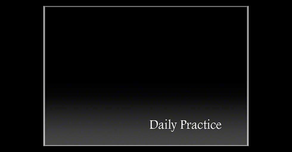 Daily Practice- Text Slide