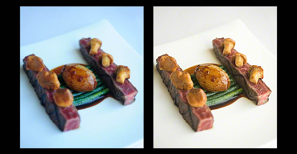 Before & After Photo Food Retouching, Photo of Beef