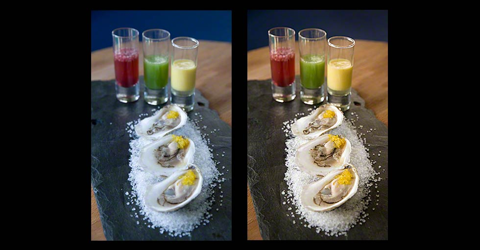 Food Photography Before & After Photo Retouching