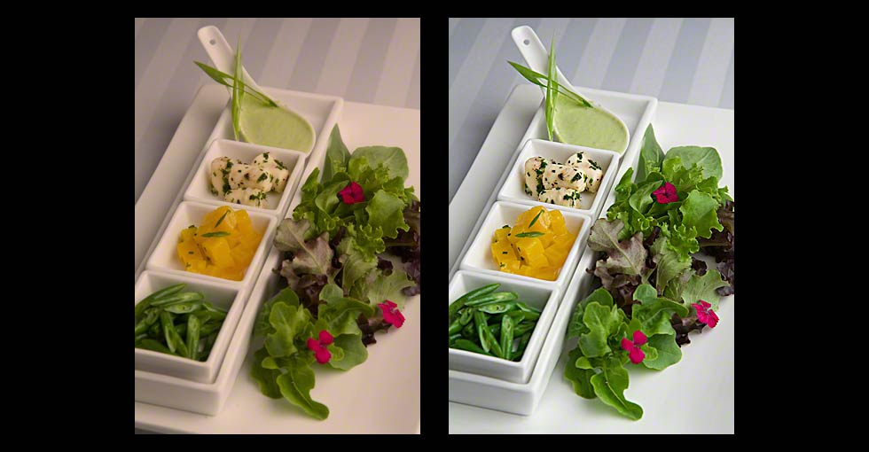 Before & After Photo Retouching of Food Photography