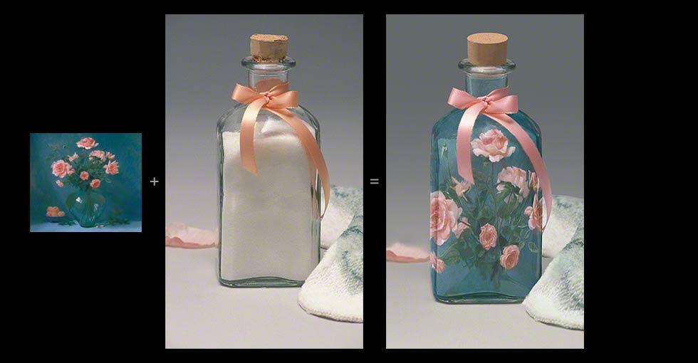 Digital Product Prototype of Rose Bath Salt