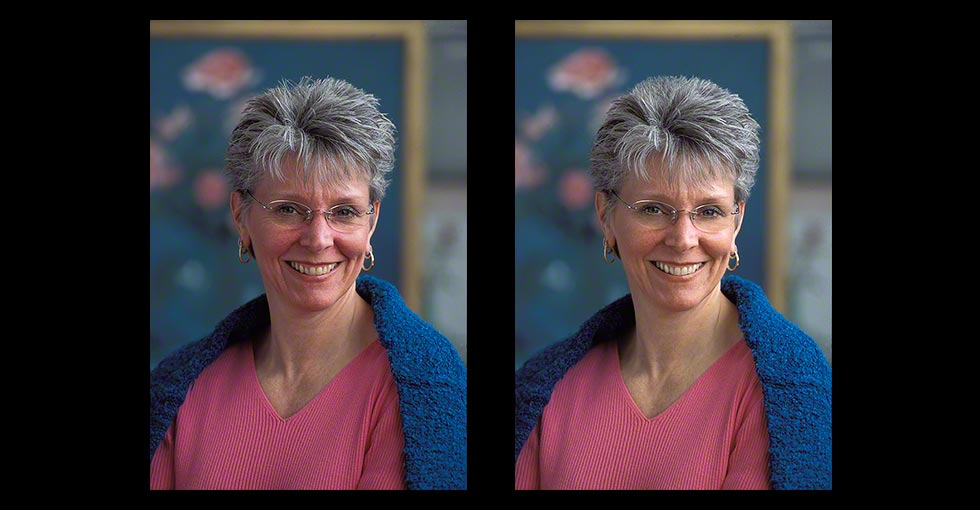 Portrait Retouching, Photo of Melody Phaneuf
