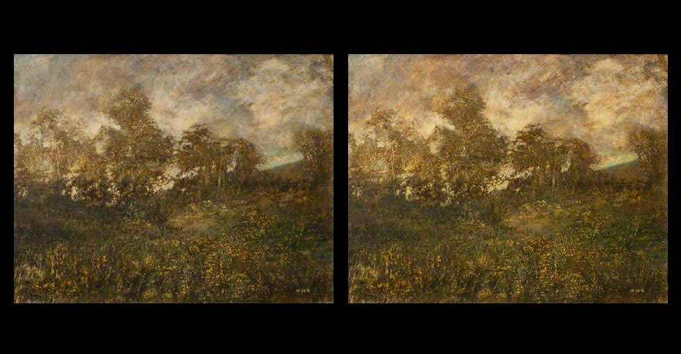 Before & After Oil Painting, Twilight